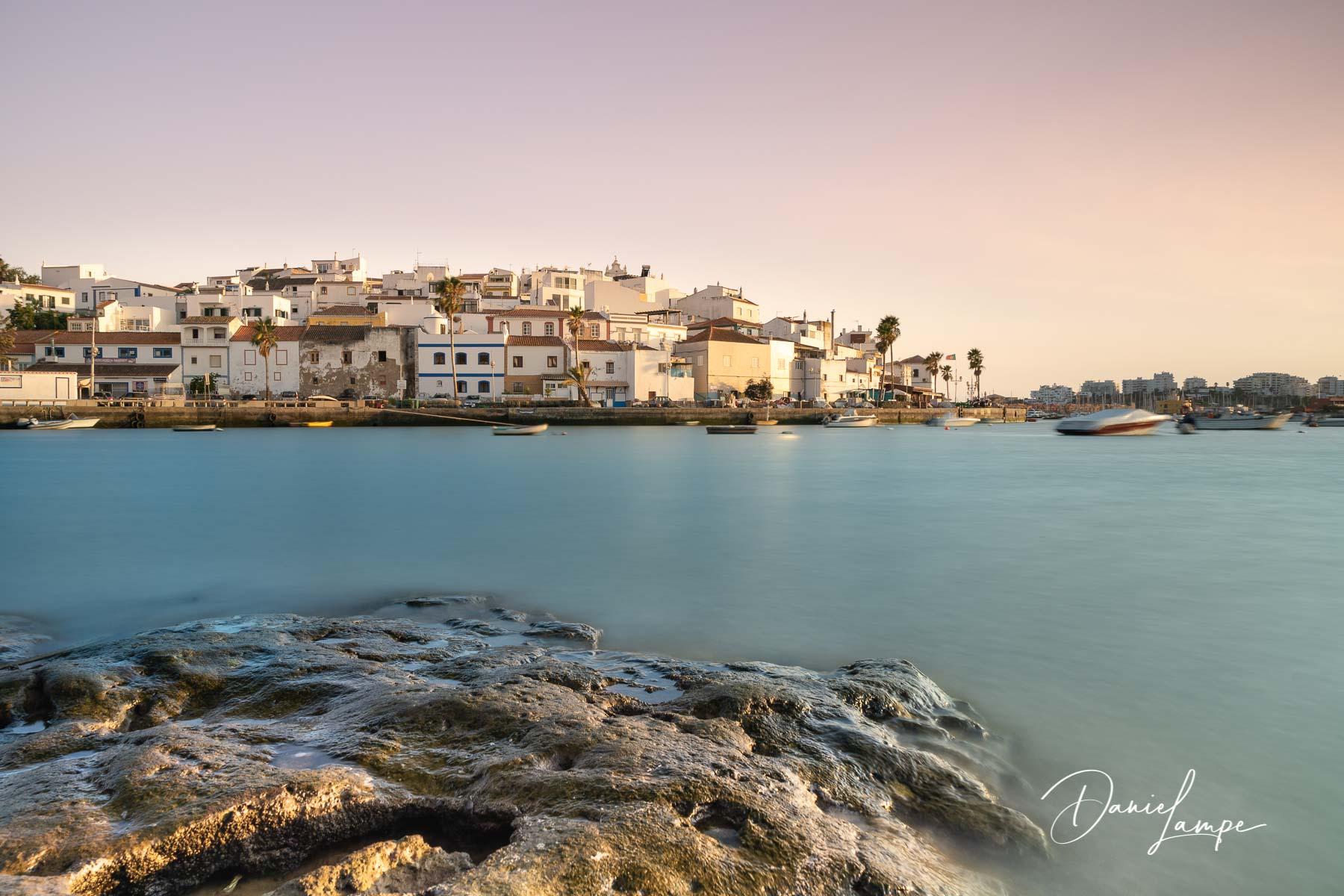 Portugal, Algarve, Ferragudo, Fischerdorf