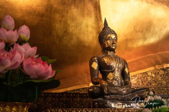 Thailand, Bangkok, Liegender Buddha, Buddha, Gold